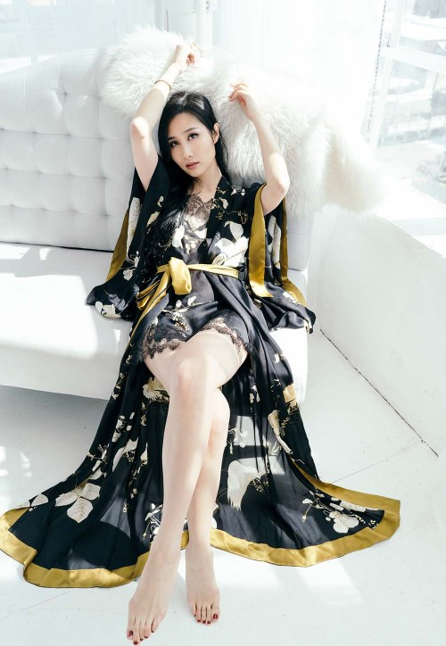 Brand Crush: Carine Gilson – Couture Lingerie & Silk Robes   OF Leather and Lace   Fashion Blog by Tina Lee