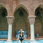 Tina Travels: The Most Beautiful Outdoor Pool in Marrakech, Morocco – La Sultana