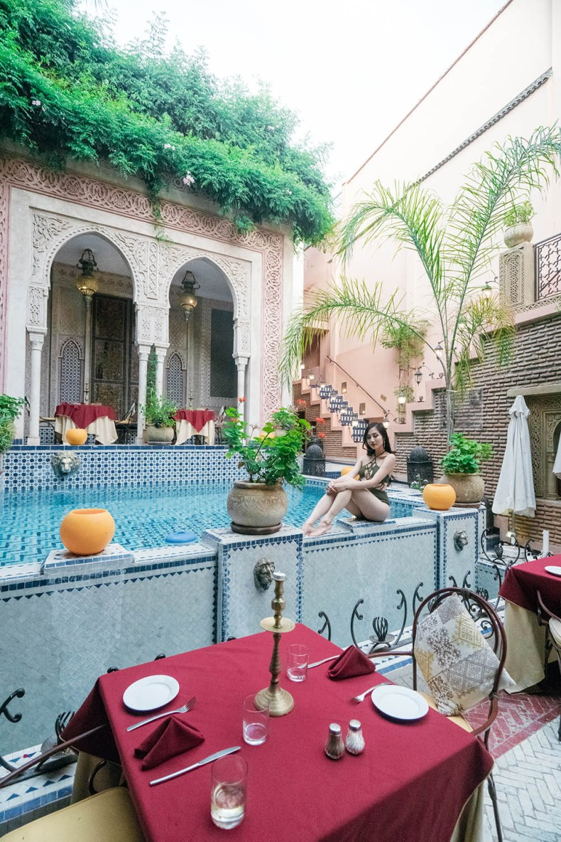 Tina Travels Riad Palais Sebban Review Of Leather And