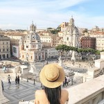 Tina Travels: Piazza Venezia, Rome, Italy – Grand Views & Even Grander Structures (Video)