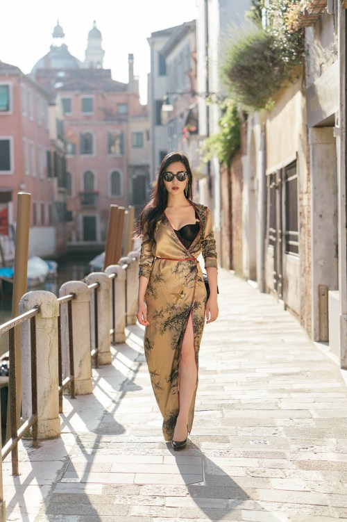 Attico Robes | Of Leather and Lace