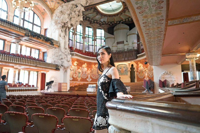 Palau de la Musica Catalana - The Most Beautiful Concert Hall in Barcelona, Spain | Of Leather and Lace
