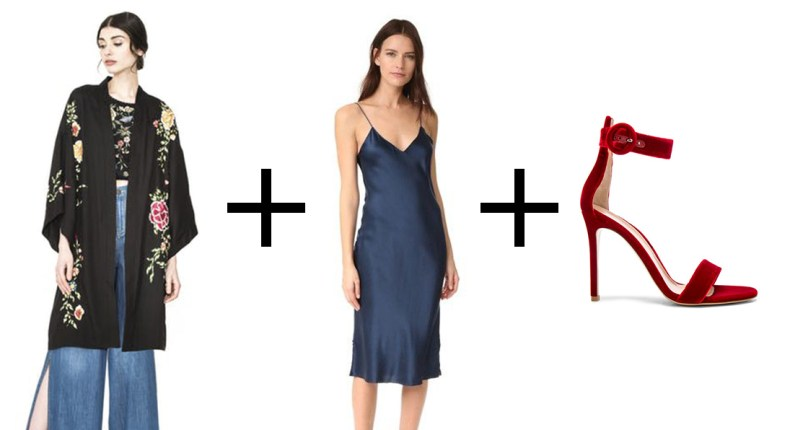 How to Style a Slip Dress for Fall | Of Leather and Lace