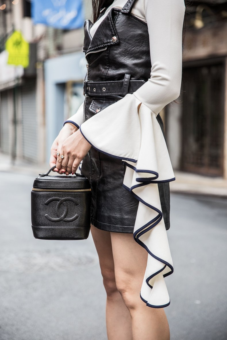 How to Layer Your Favorite Summer Pieces in the Fall | Ofleatherandlace.com