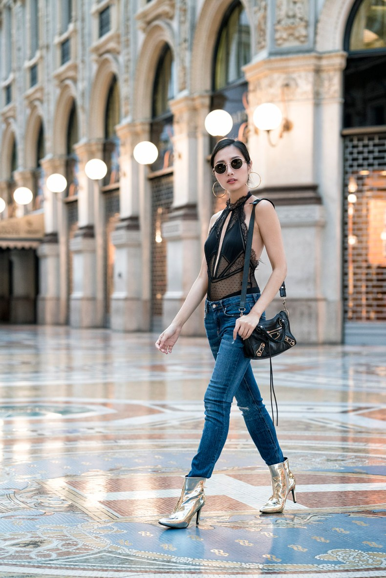 How To Wear Metallic Boots To Every Occasion | Of Leather and Lace - A Fashion & Travel Blog By Tina Lee