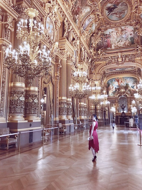 Palais Garnier - The One Place You Shouldn't Miss in Paris | Of Leather and Lace - Fashion and Travel Blog by Tina Lee