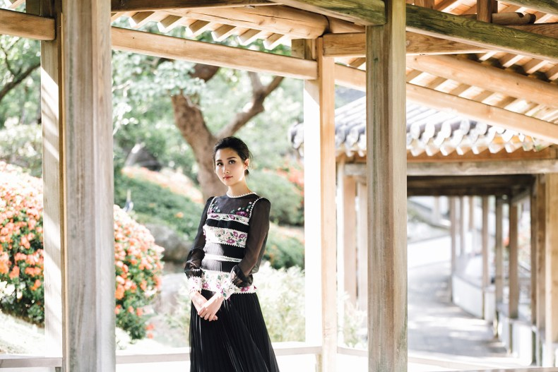 Brand Crush: Vernalmania - Couture Gowns With A Story   Of Leather and Lace - Fashion Blog by Tina Lee   asian inspired fashion, taipei national palace museum, black gown, oriental fashion