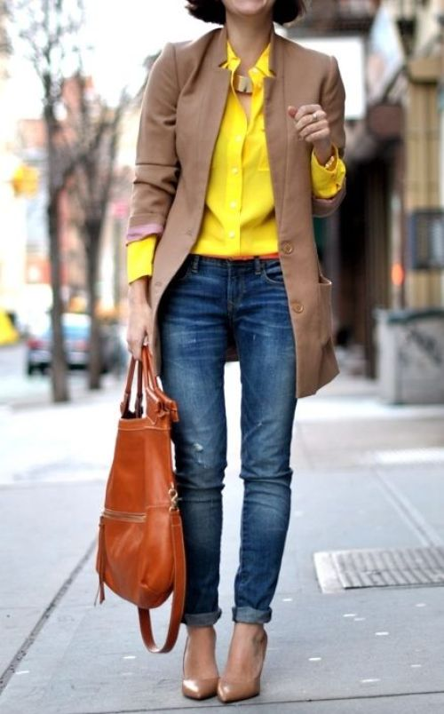 How To Wear Yellow In The Fall | Of Leather and Lace - Travel & Fashion Blog by Tina Lee | Yellow outfit ideas, yellow outfit, yellow aesthetic, yellow outfits for women, yellow outfits fall, eiffel tower