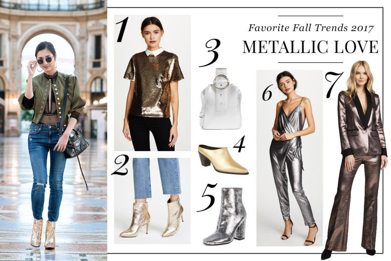 Pre-Black Friday Fashion Sales of 2017 | Of Leather and Lace - A Fashion Blog by Tina Lee | Metallic Boots Outfit