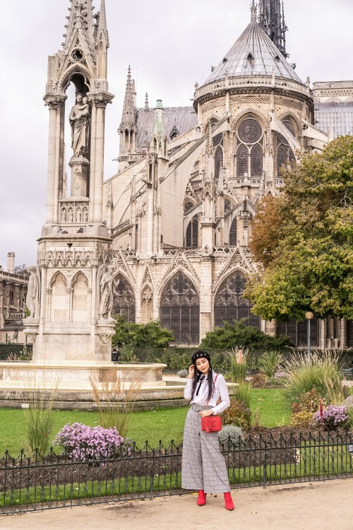 My Top Tips on How to Style Wide Leg Pants   in Paris   Of Leather and Lace