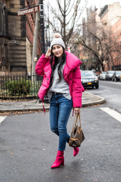 Stylish Puffer Jackets to Get You Through Winter | in NYC | Of Leather and Lace