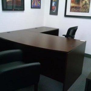 "Valencia Series Large ""L-Desk"" Configuration"