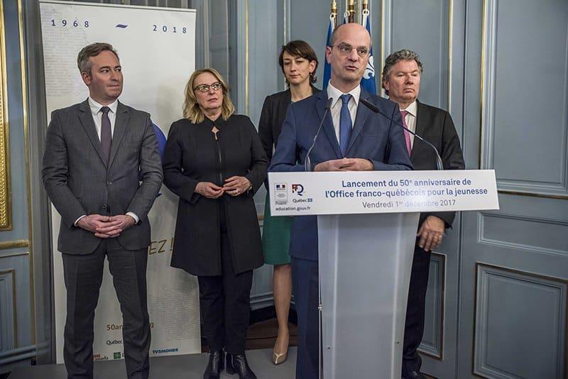 L'Office franco-québécois pour la jeunesse célèbre son 50e anniversaire