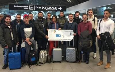 12 jeunes apprentis lyonnais en séjour professionnel au Québec