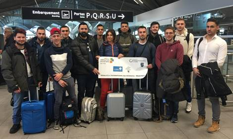 CIMME 2018 - 12 apprentis en BTS MSEF 1ère Année