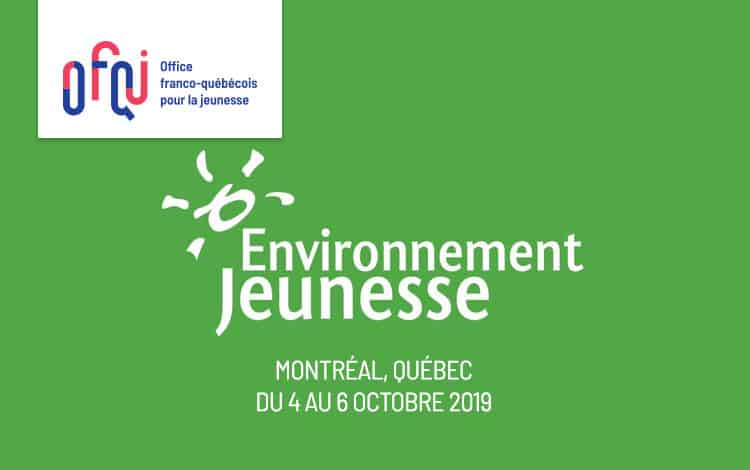 Colloque d'ENvironnement JEUnesse 2019