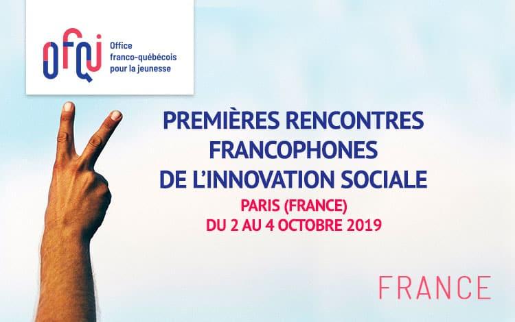 Premières rencontres francophones de l'innovation sociale 2019 – Participants France