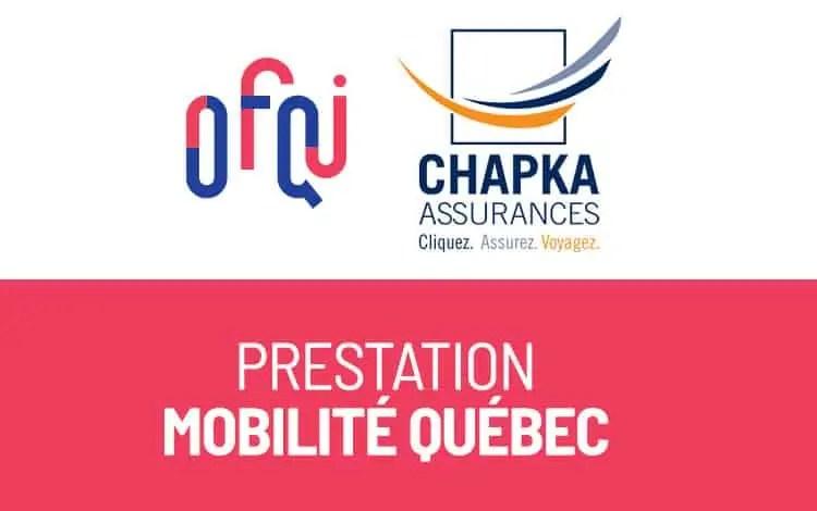 Assurances Mobilité OFQJ - Chapka
