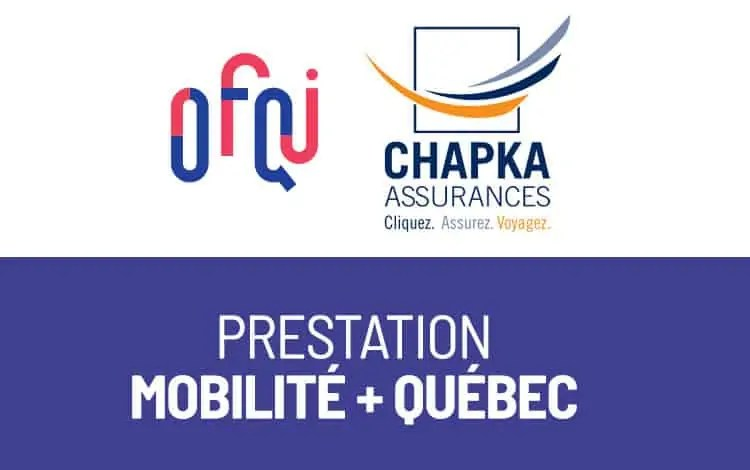 Assurances Mobilité + OFQJ - Chapka
