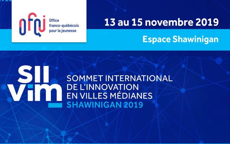 Sommet international de l'innovation en villes médianes 2019