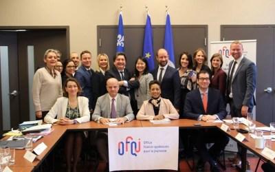 La 65è séance du Conseil d'administration de l'OFQJ présidée par les Ministres Blanquer et Girault à Montréal