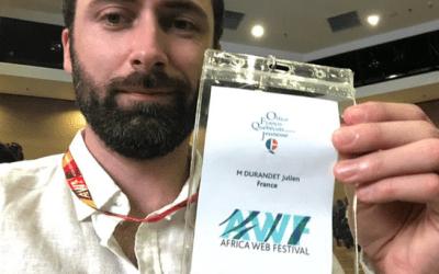 4 jeunes professionnels du numérique soutenus par l'OFQJ à l'Africa Web Festival