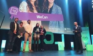 Le Prix Jeune entrepreneur OFQJ - Coopérathon 2019 remis à Wecan !