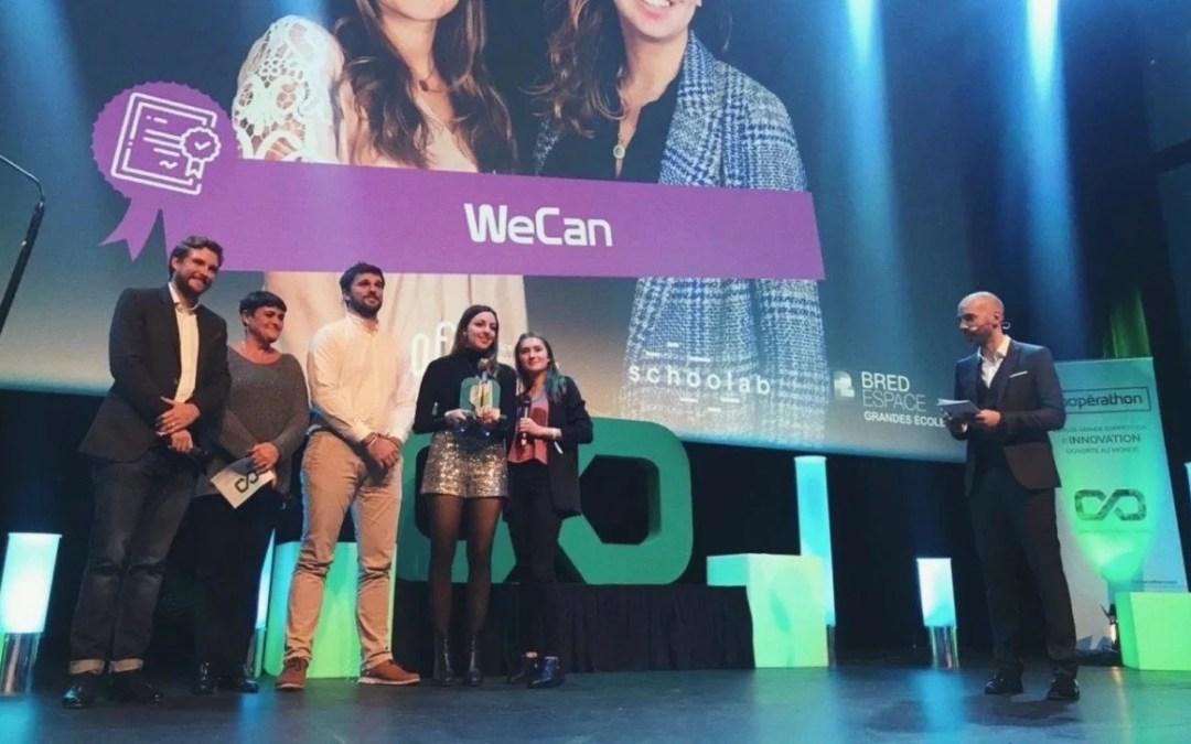 Le Prix Jeune entrepreneur OFQJ – Coopérathon 2019 remis à Wecan !