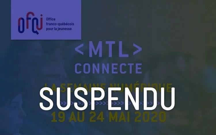 MLT Connecte 2020 - Suspendu