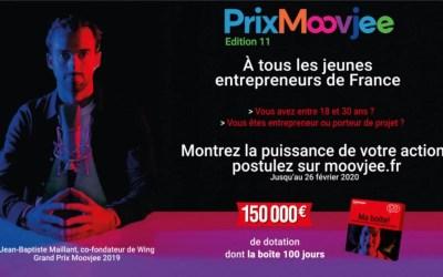 Entrepreneurs, envolez-vous pour le Québec avec le 11e Prix Moovjee