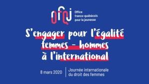 S'engager pour l'égalité femmes hommes à l'international