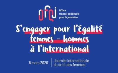 Féminisme : en 2020, des projets pour les jeunes agitent la France et le Québec