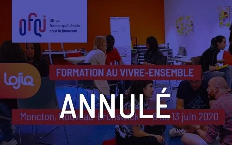 Vivre Ensemble Moncton 2020 - annulé