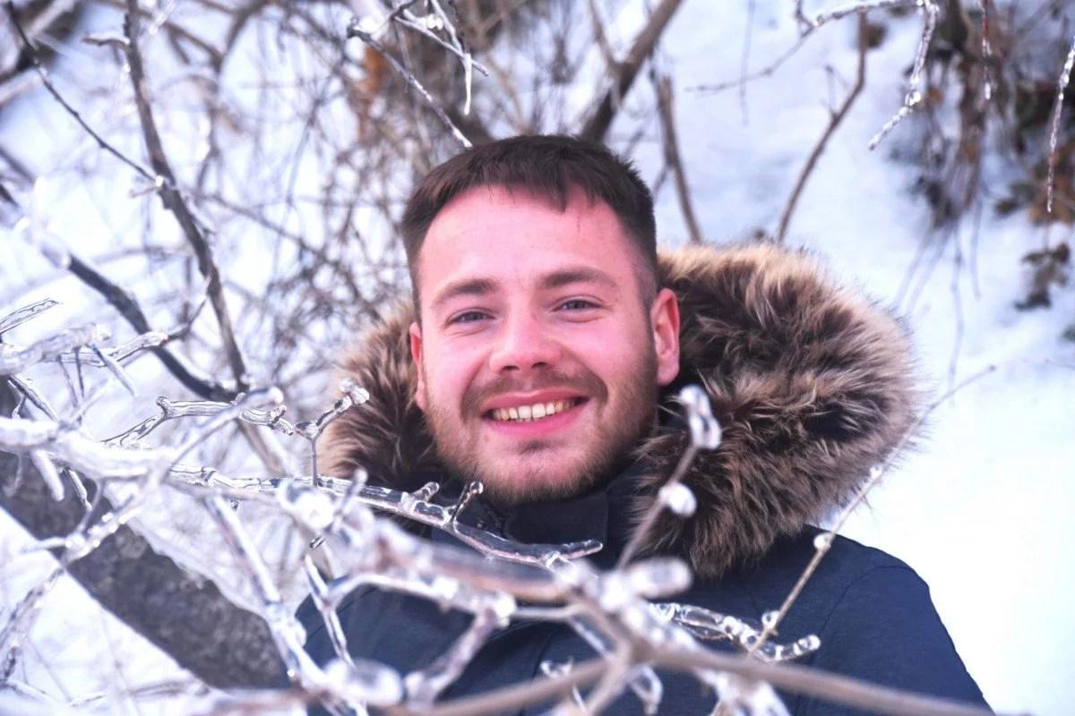 Portrait de Kévin à Montréal