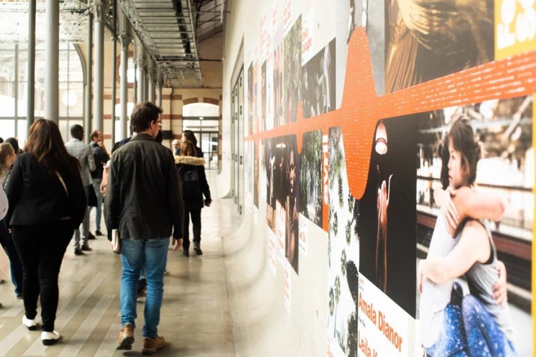 Rencontres francophones de l'innovation sociale 2019 - Visite du 104