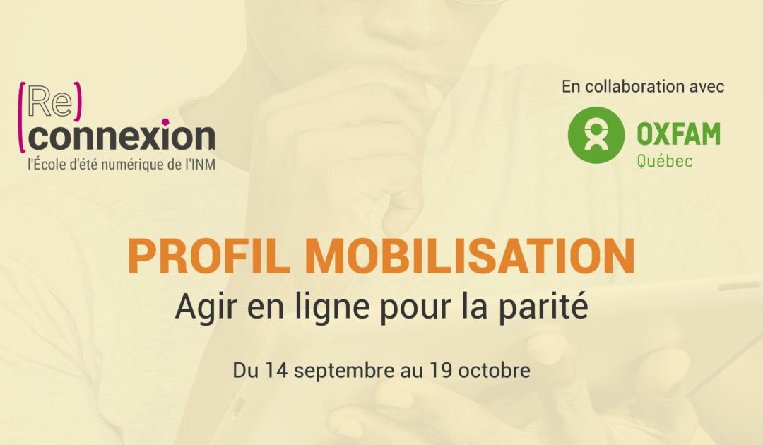 Ecole d'été de l'INM en ligne 2020 : Assistez à la conférence Agir pour la parité