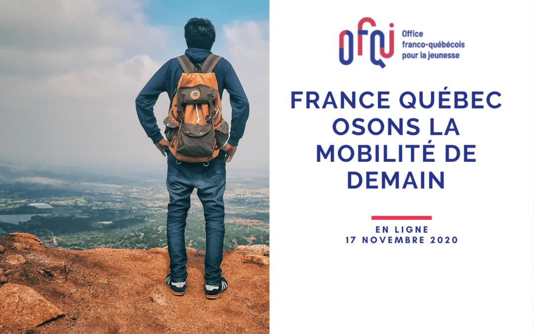 France-Québec, osons la mobilité de demain