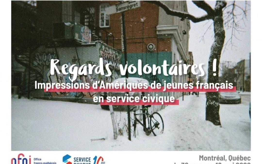 """Découvrez l'exposition """"Regards volontaires !"""" à l'occasion des 10 ans du Service civique"""