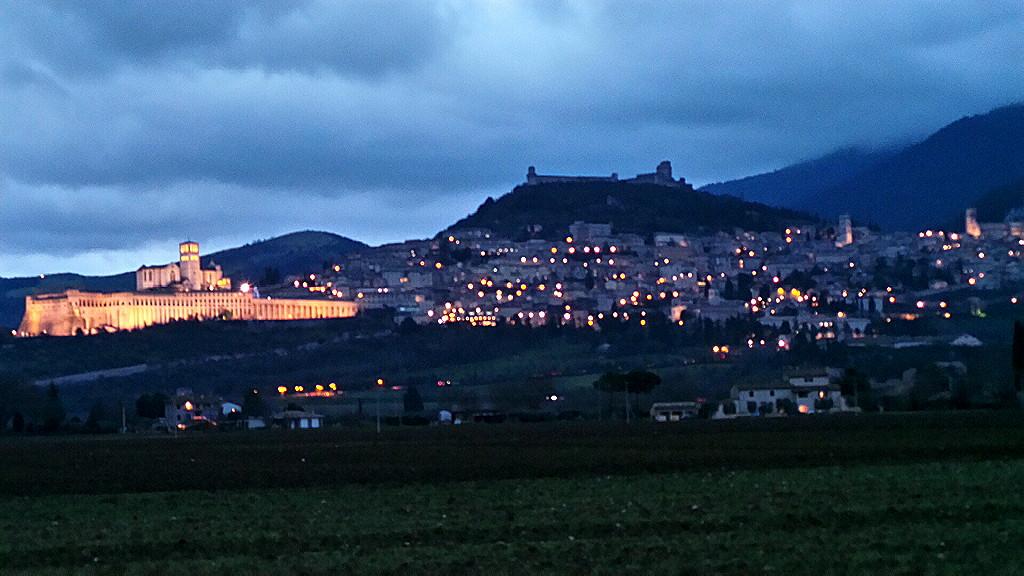 Assisi, intervista su Rai1