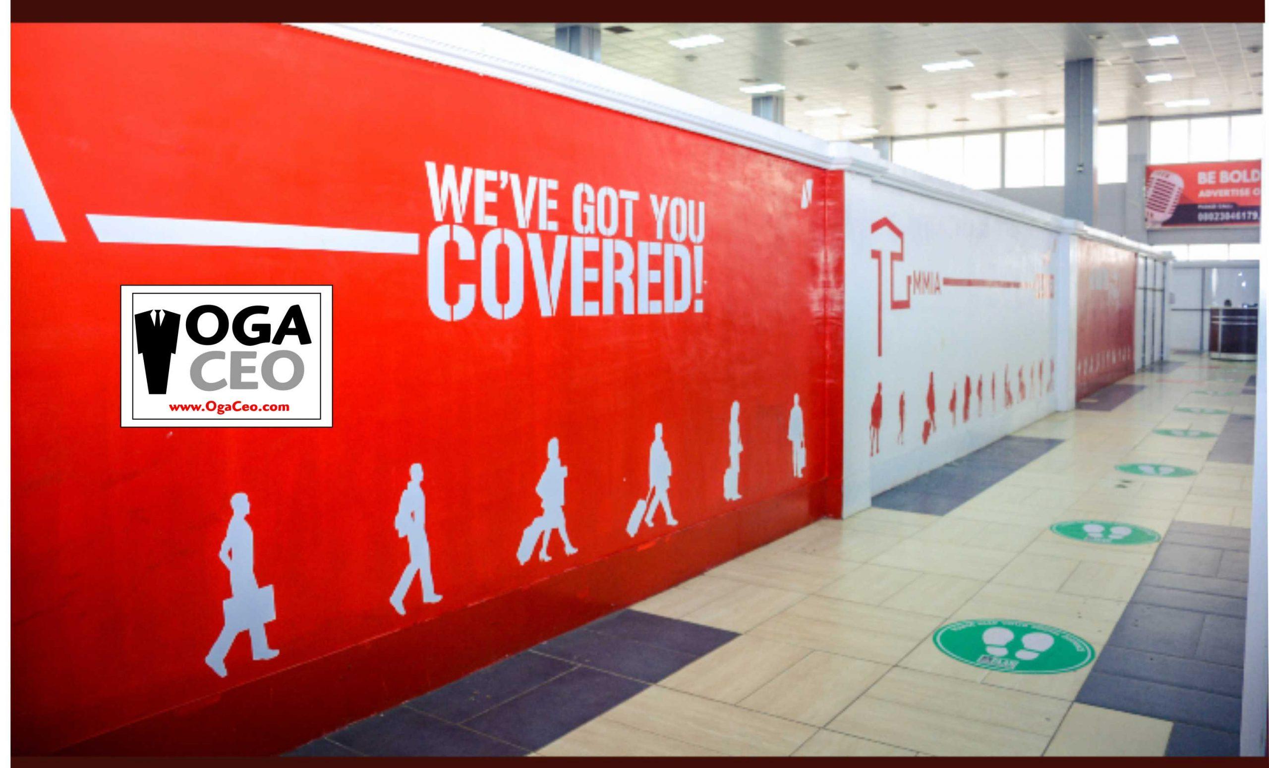 Murtala Muhammed International Airport, bubbles back to life