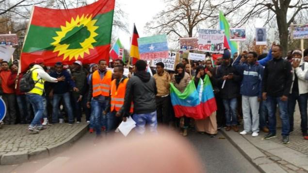 berlin4 1024x576 Ogaden and Oromo Communities Demonstrate in Berlin