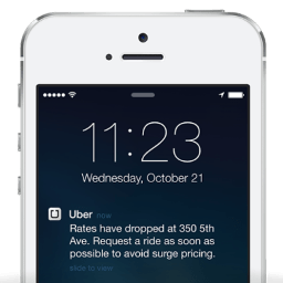 Integrated Push Notifications