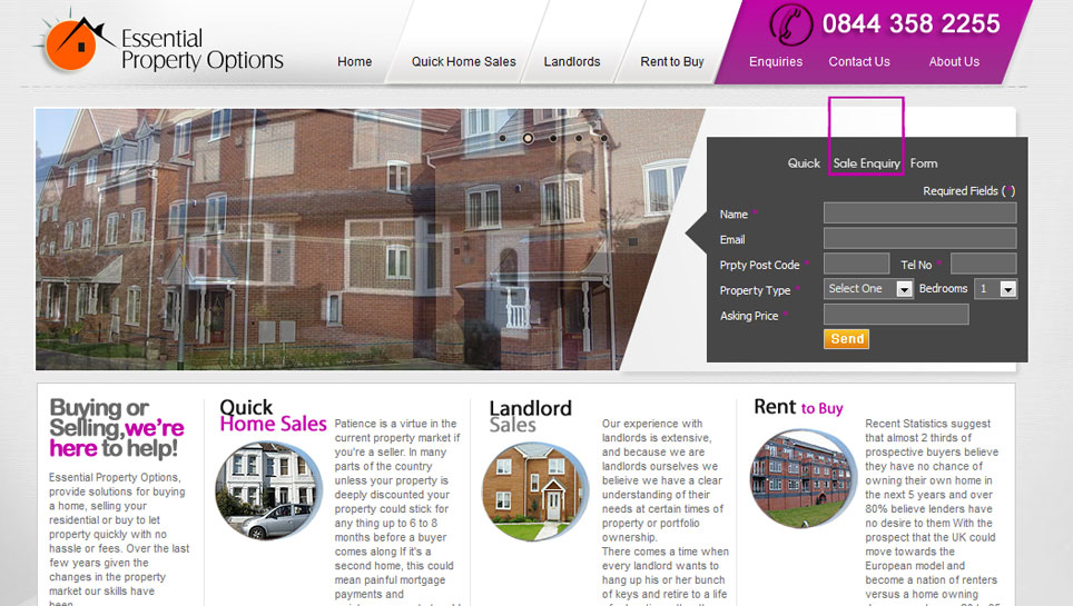 ESSENTIAL PROPERTY OPTIONS -essentialpropertypptions.co.uk