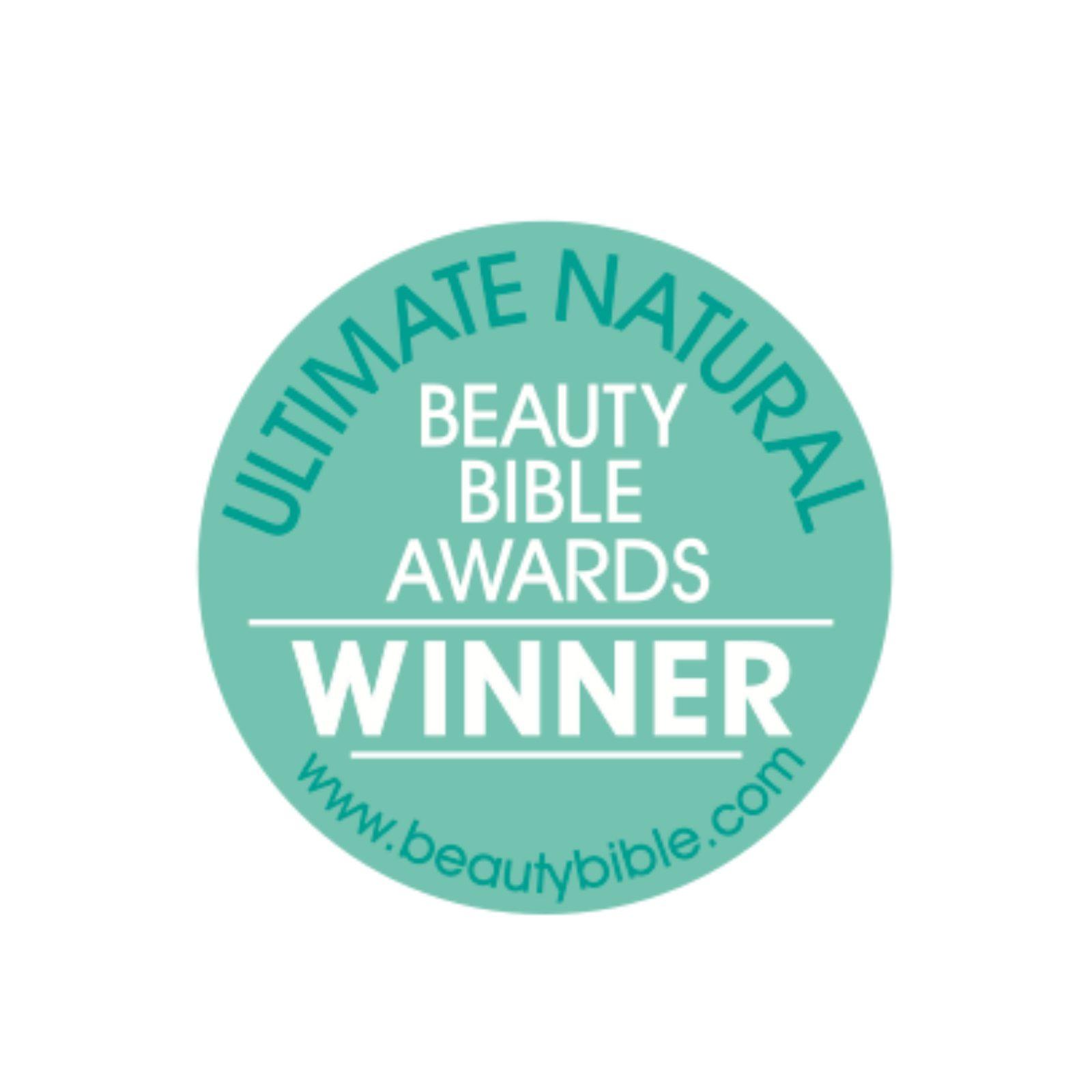 Ultimate natural beauty bible winner logo