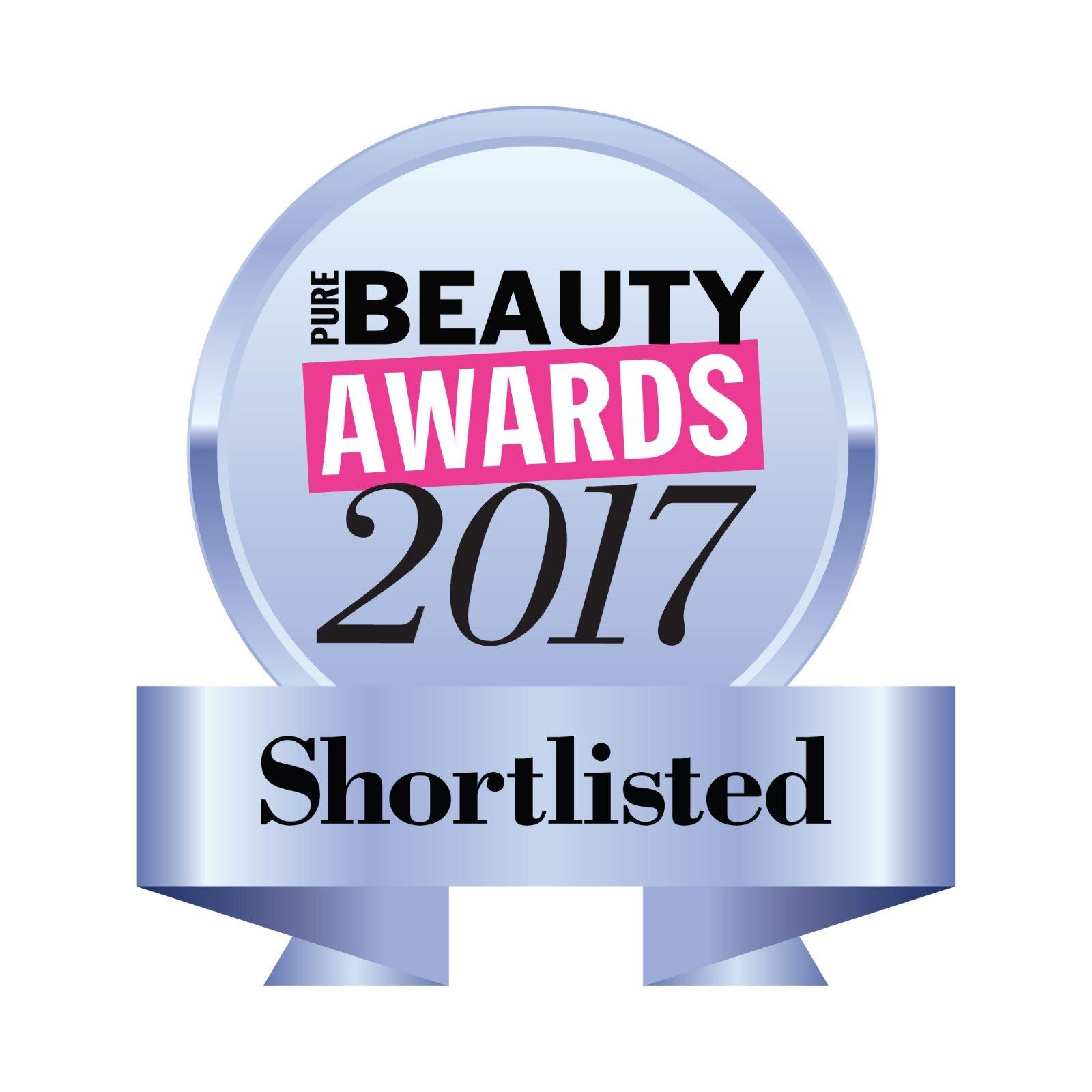 pure beauty award shortlisted logo