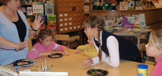 Знакомство детей с художественными промыслами