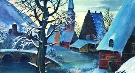 Выставка работ Ивана Хохлова, картины цикла «Воспоминание о Брейгеле. Метаморфозы».