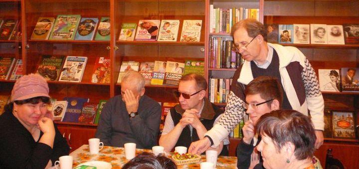 Заседание участников аудио клуба «Озарение»