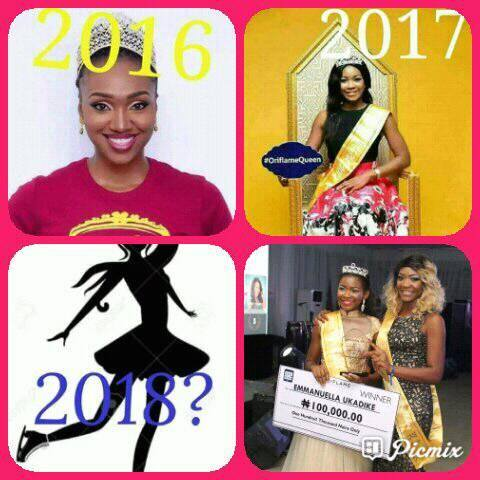 face of oriflame nigeria beauty contest winners