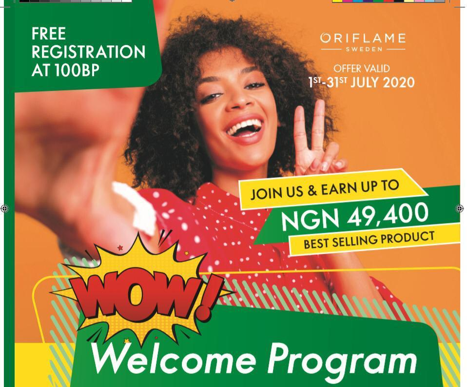 oriflame free registration 2020 july